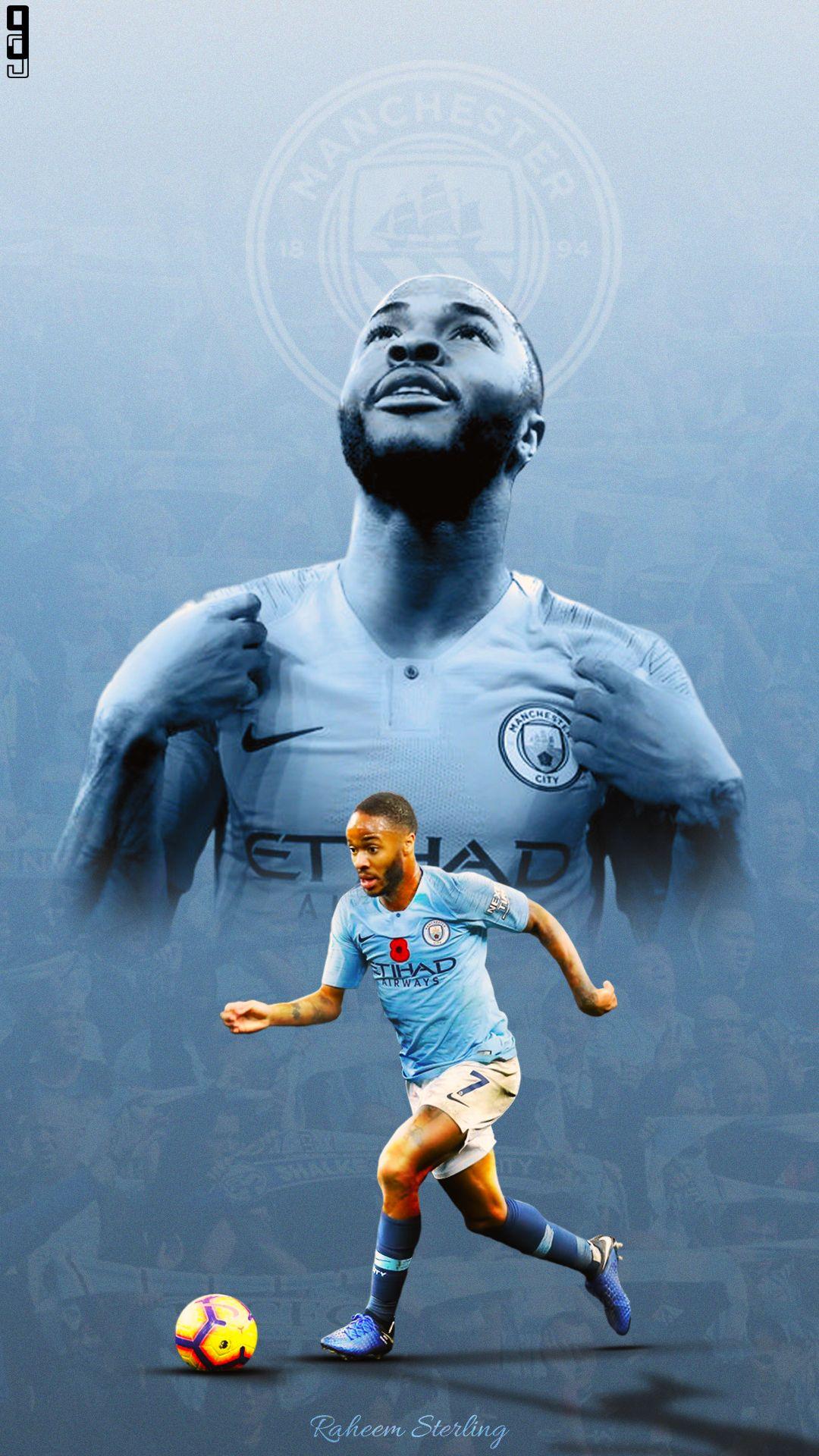 Raheem Sterling Manchester City At Sterling7 X At Mancity