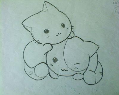 dibujos a lapiz de animales tiernos faciles - Buscar con Google