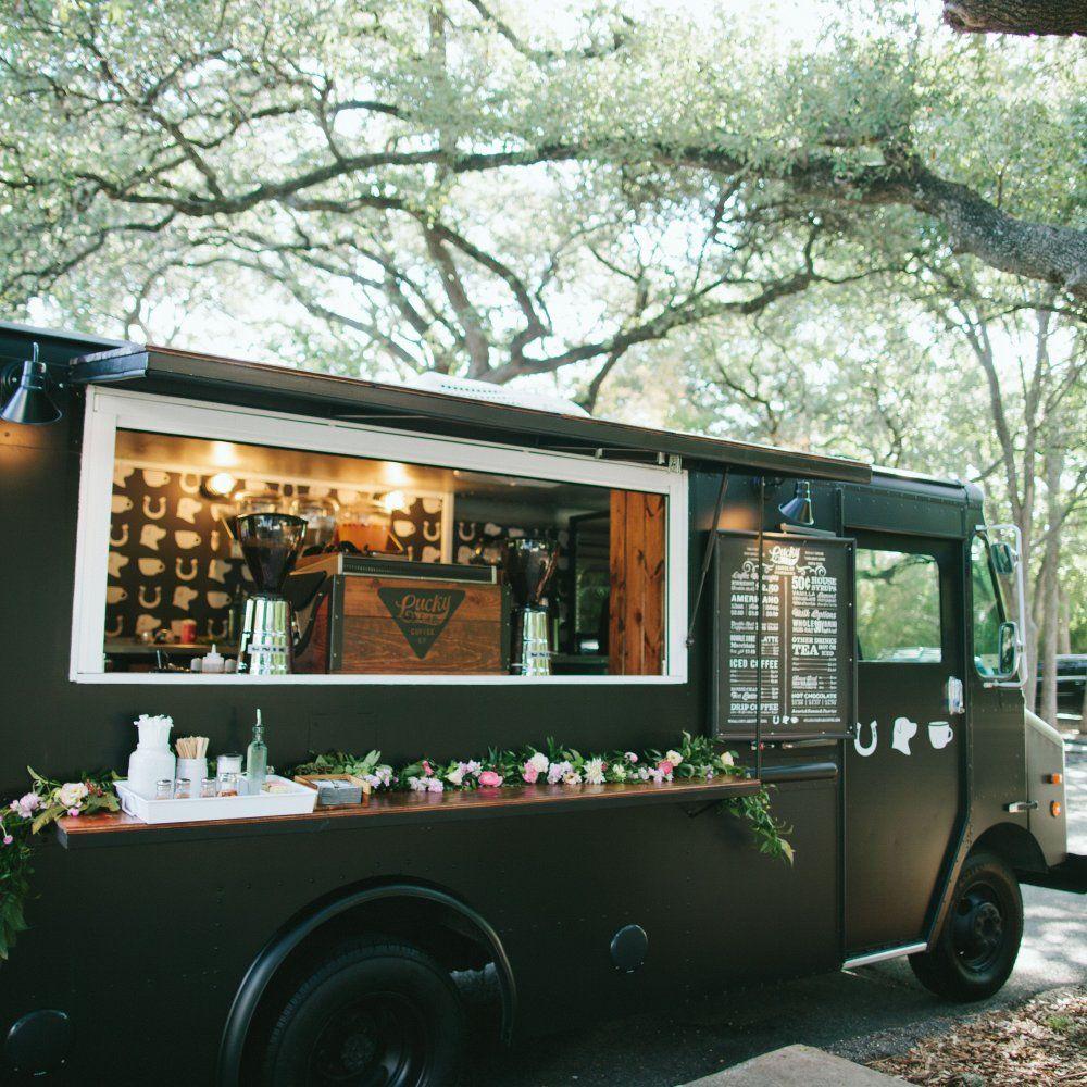 Food Truck Wedding Ideas: Lucky Lab Coffee Company Food Truck