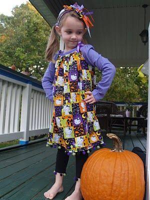 Halloween Pillowcase Dress