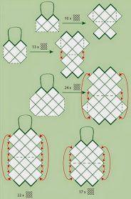 Handmade by LJ : Malas-Sacos em Croche/Crochet Handbags #crochethandbags