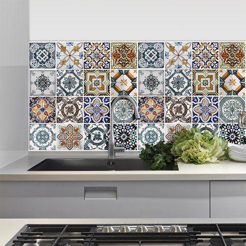Piastrelle adesive: per cucina e bagno, offerte online | Taps