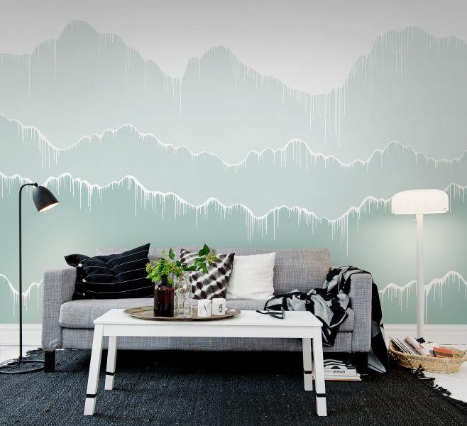 Elevation, gradient Papel pintado, Pintar y Papel