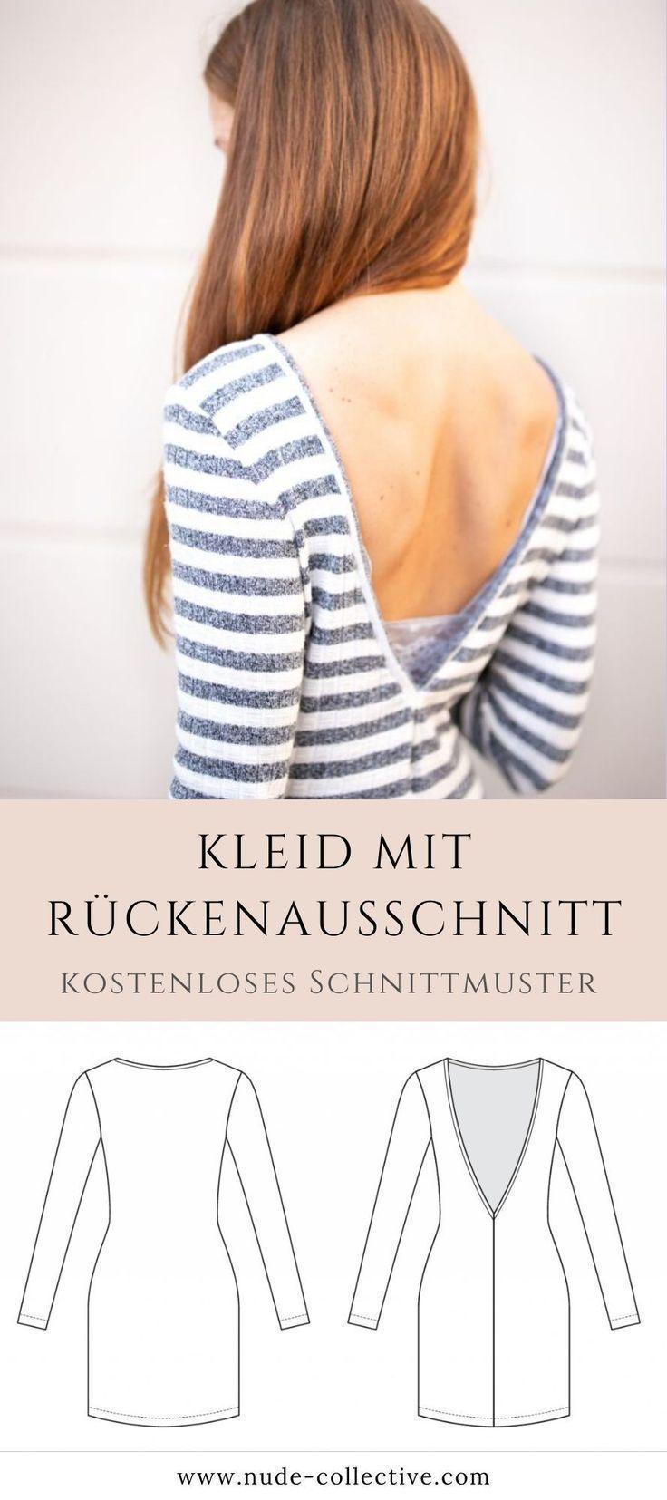Photo of Ein gestricktes Kleid nähen – Anleitung & Anleitung • NUDE – Ein gestricktes Kleid nähen – Anl …, #Anl #Anlei …