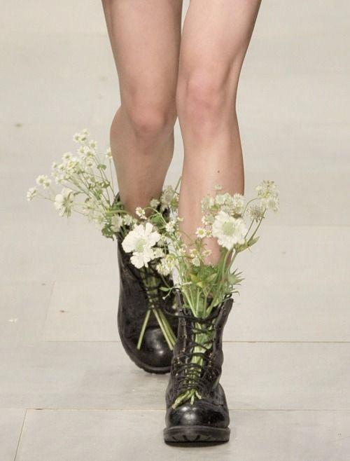 Shoes at Ashish Spring 2012