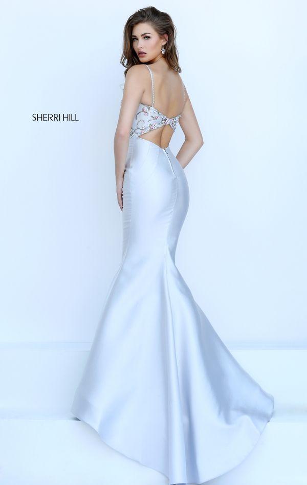 Sherri Hill 50284. Satin DressesElegant DressesFormal ...