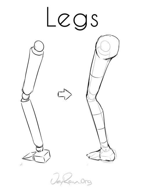 How to Draw Legs - JeyRam Art