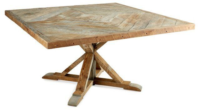 """Shelby 60"""" Square Dining Table"""