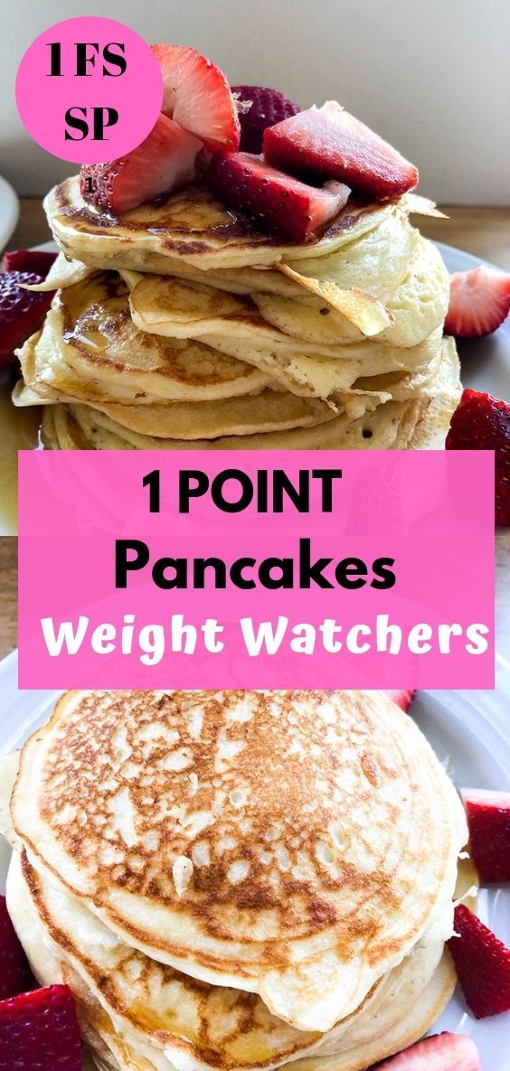 Weight Watchers Pancakes (low point) No Bananas - Recipe Diaries