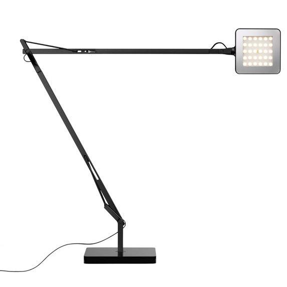 Kelvin Led Desk Lamp With Sensor By Flos Lighting F3311057 Flos Table Lamps Led Desk Lamp Led Table Lamp