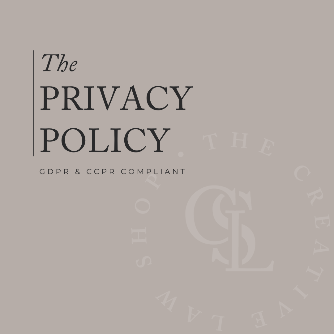 The Privacy Policy In