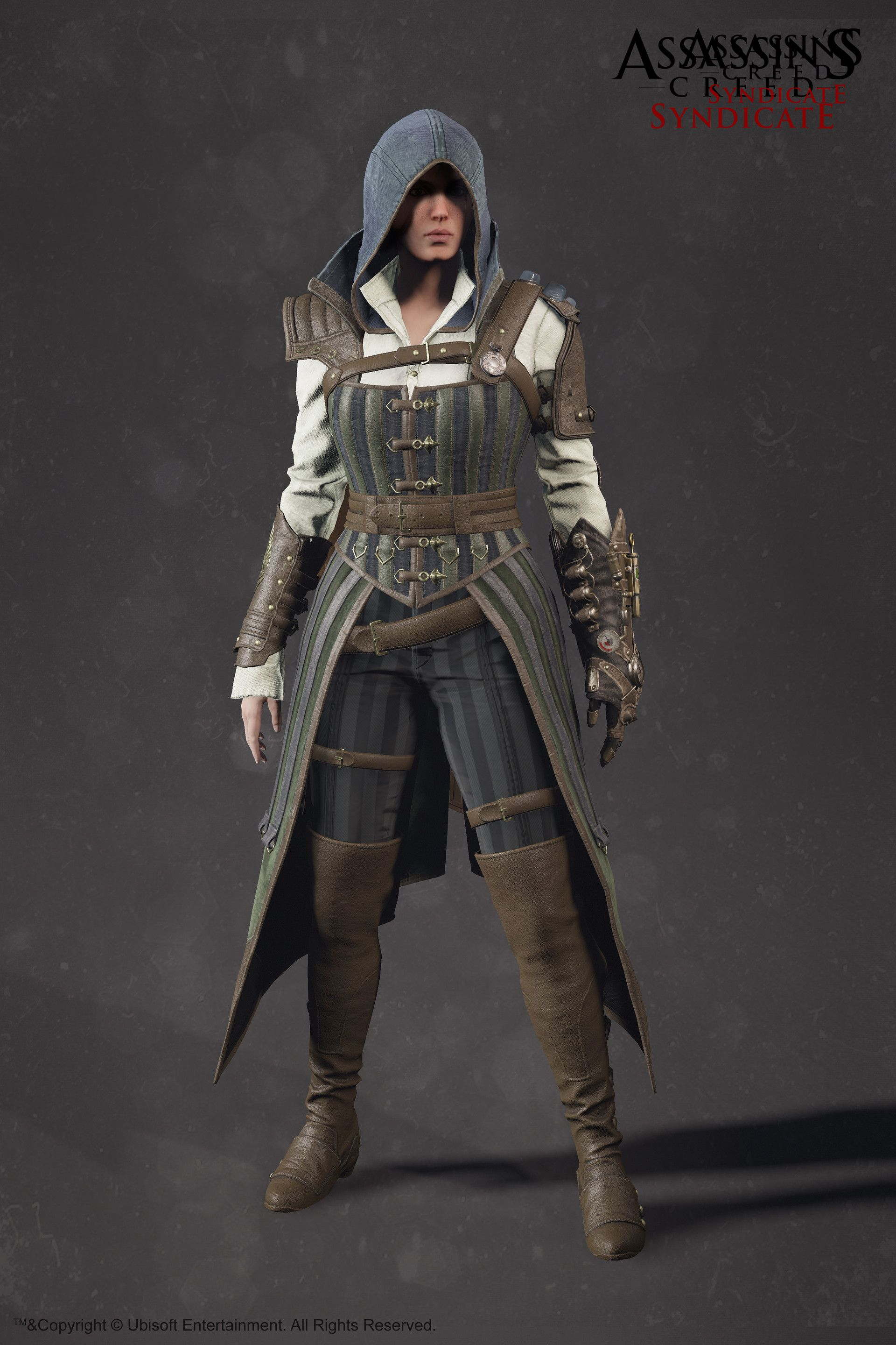 Evie Frye Steampunk Outfit Assassin S Creed Syndicate Sabin