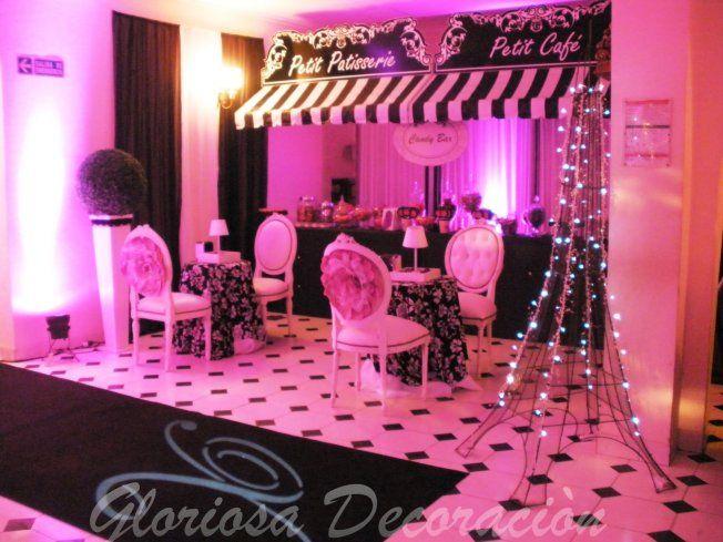 Imagen ideas para fiesta de 15 a os pinterest par s for Decoracion xv anos paris