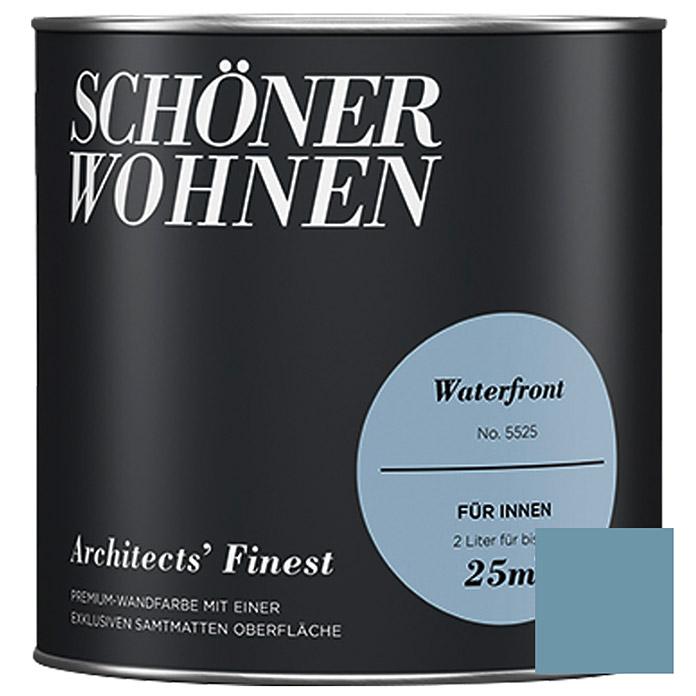 Schoner Wohnen Muurverf Architects Finest Nr 5525 Waterfront 2 L Mat Bauhaus In 2020 Muurverf Muurverf Kleuren Bauhaus
