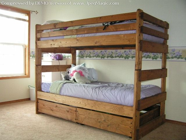 Bunk Bed This Looks The Same As Standard But With A For More Awesome Ideas Take Look At Homeizy