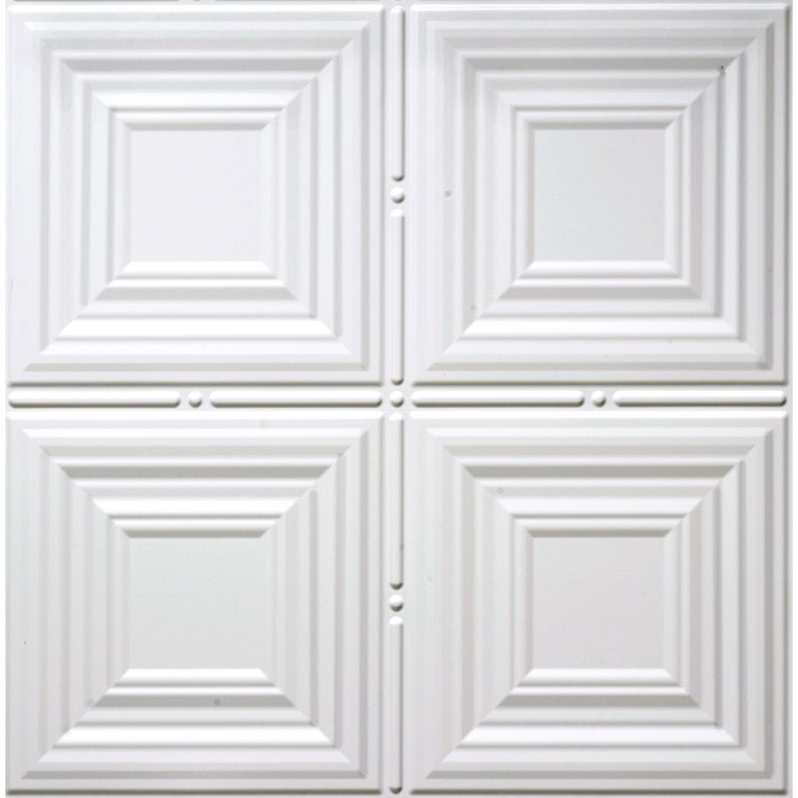 Dimensions matte white faux tin 1516 in drop acoustic ceiling tiles dimensions matte white faux tin 1516 in drop acoustic ceiling tiles common dailygadgetfo Choice Image