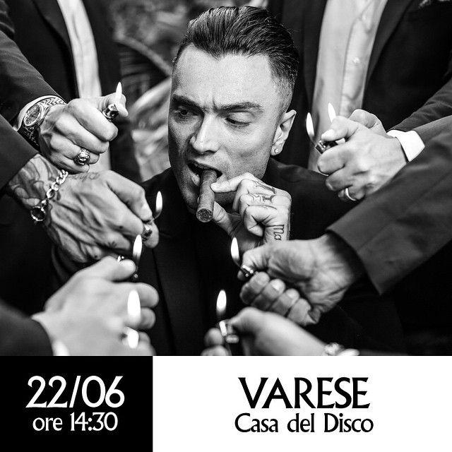 #GuèPequeno Guè Pequeno: Domani. Varese, Casa del Disco. ore 14.30. #vero
