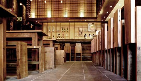 interior japanese restaurant Contemporary Japanese restaurant from Toronto by Dialogue 38