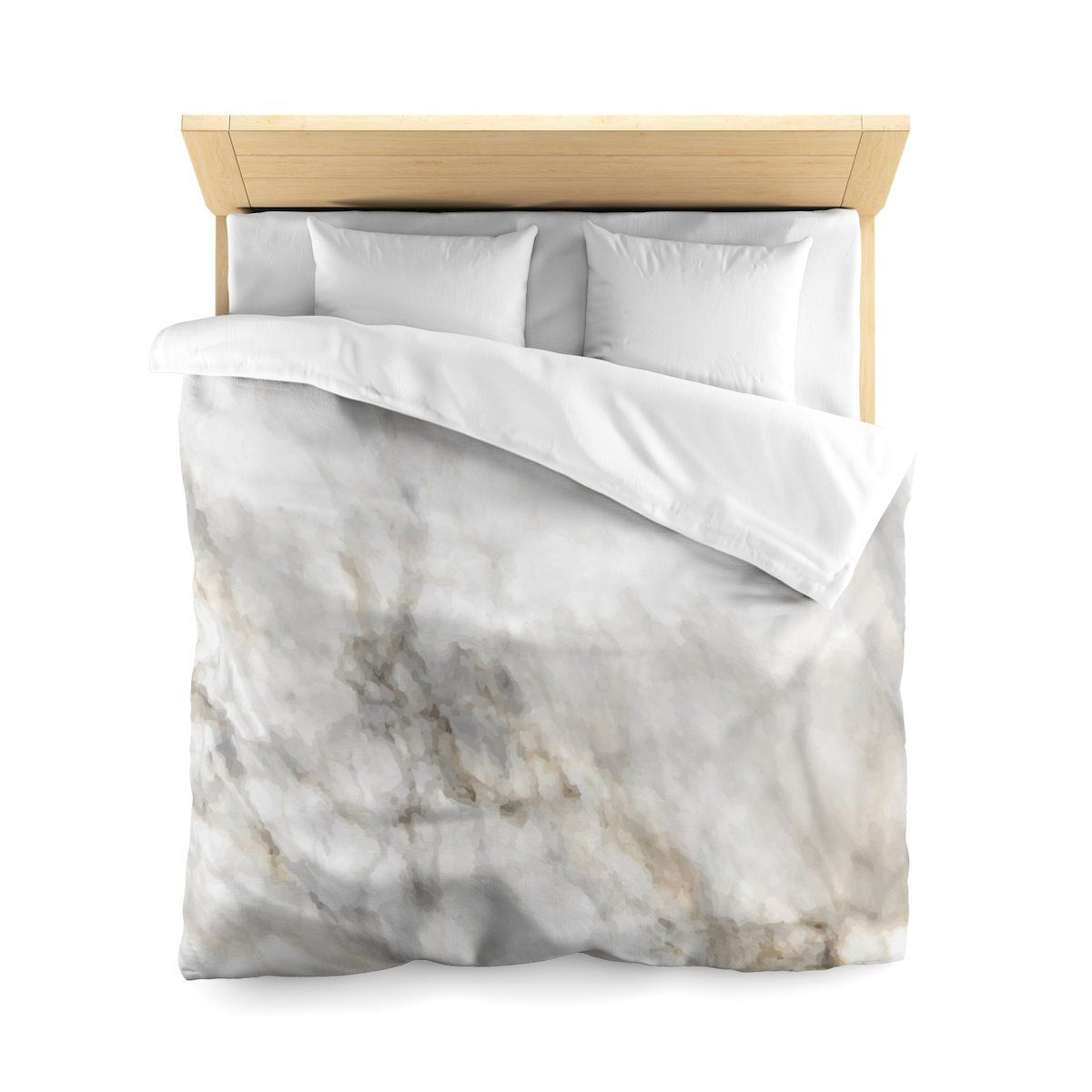 Marble Comforter Marble Bedding Marble Bedroom Decor Marble