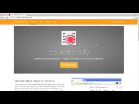 How to Use Screencastify - YouTube Students can create screen cast