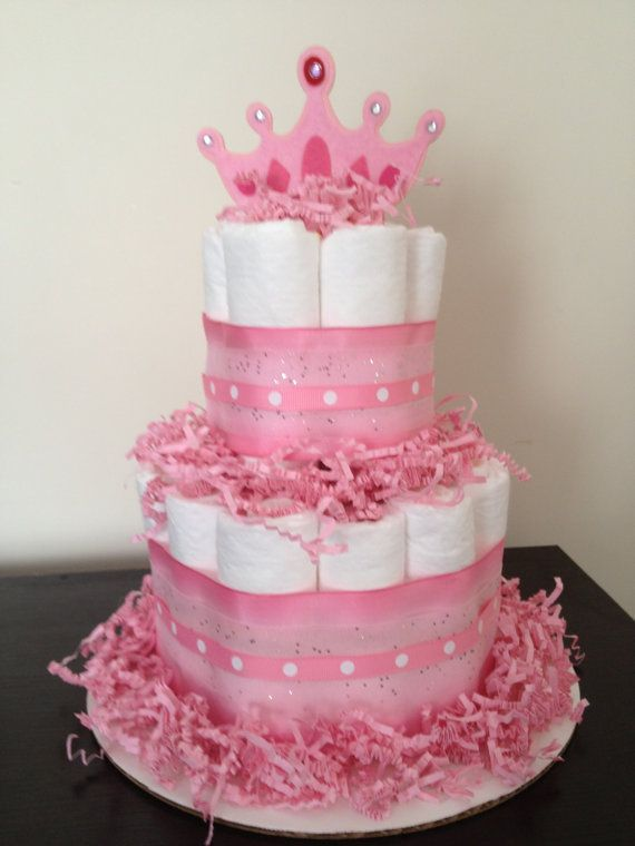 Image Result For Princess Diaper Cake Ideas