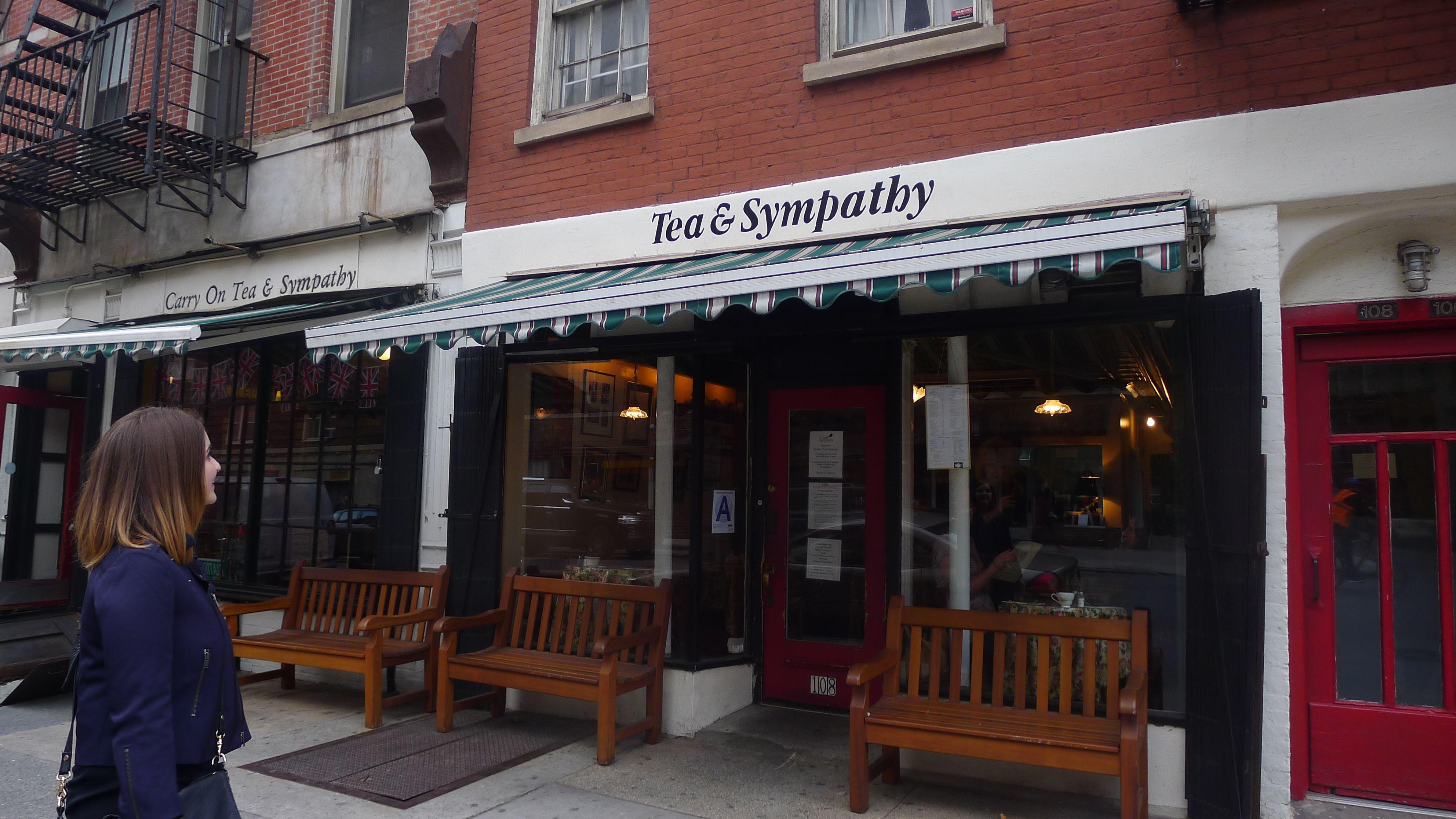 Tea Sympathy 108 Greenwich Avenue En Soup Fish Chips