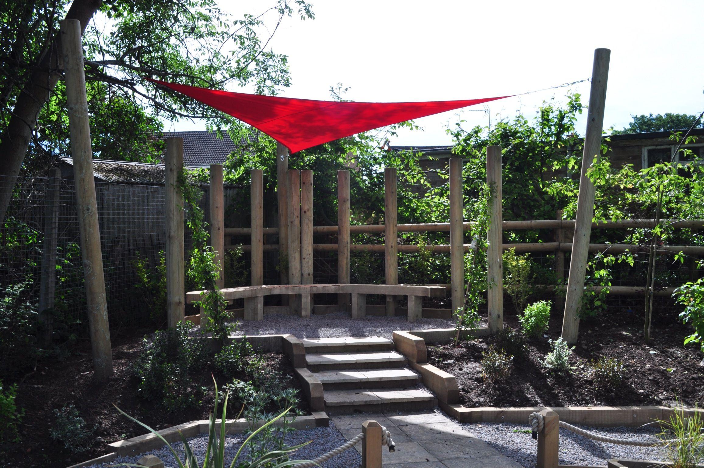 Learning Pod For Web Heath School Redditch By Jill Dempsey Garden Design And The Garden Project School Garden Garden Projects Garden Design