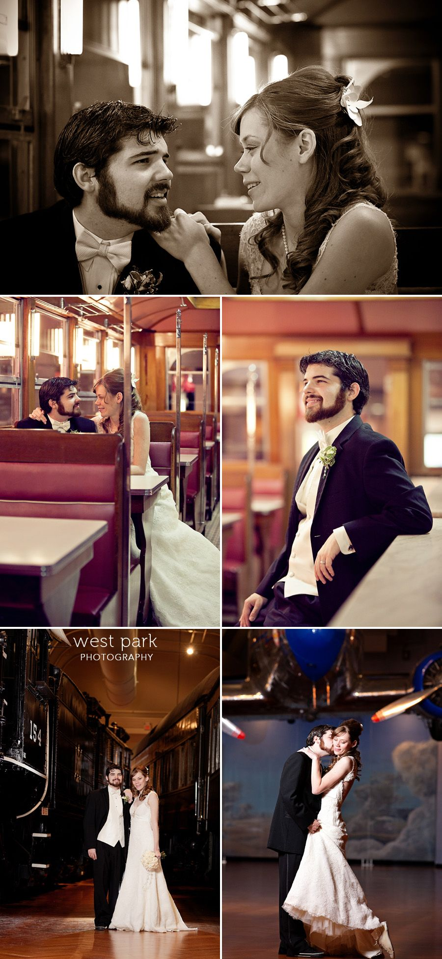 Beautiful Winter Wedding Pictures In The Henry Ford Museum And A