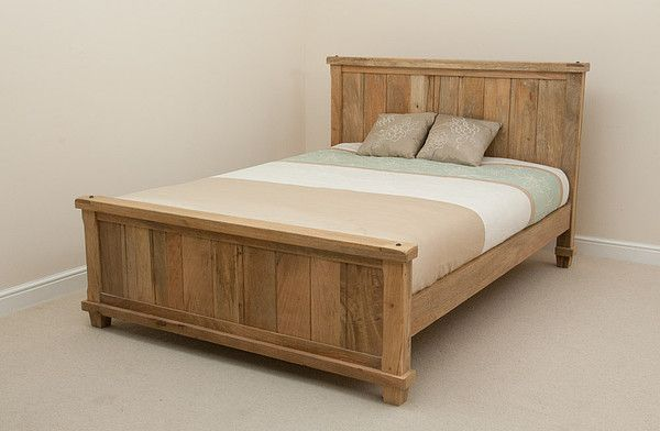 Oak Furniture Land Baku Light Natural Solid Mango 4ft 6
