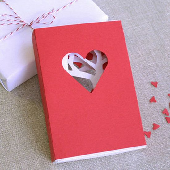 ideas for easy diy valentines day cards popsugar home – Easy Handmade Valentine Cards
