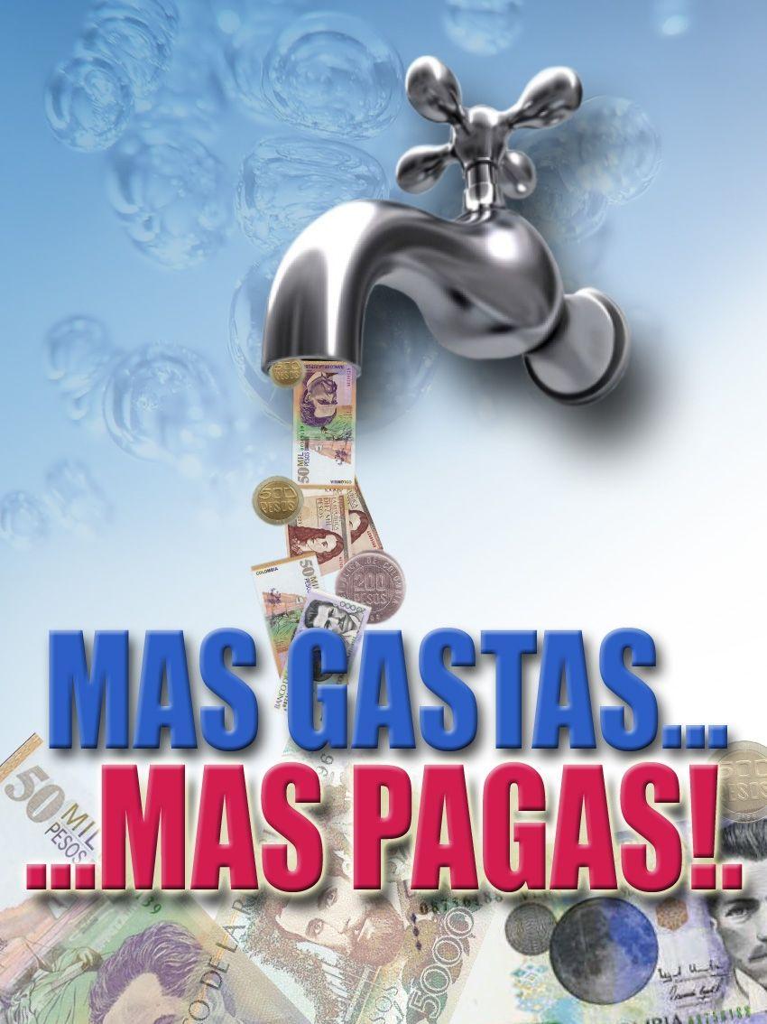 Campa a publicitaria ahorro del agua alcald a valledupar for Ahorro de agua