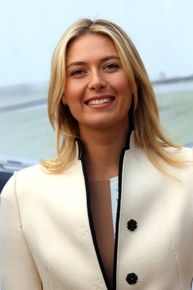 "Maria Sharapova - Maria Sharapova Loves Her New Porsche.  Porsche Brand Ambassador Maria Sharapova attends the presentation of her personalised ""Panamera GTS by Maria Sharapova"" in her hometown of Sochi, on February 4, 2014 in Sochi, Russia. Every details of the car has been specified by the tennis superstar herself to match her personal aesthetic, design and athletic personality."