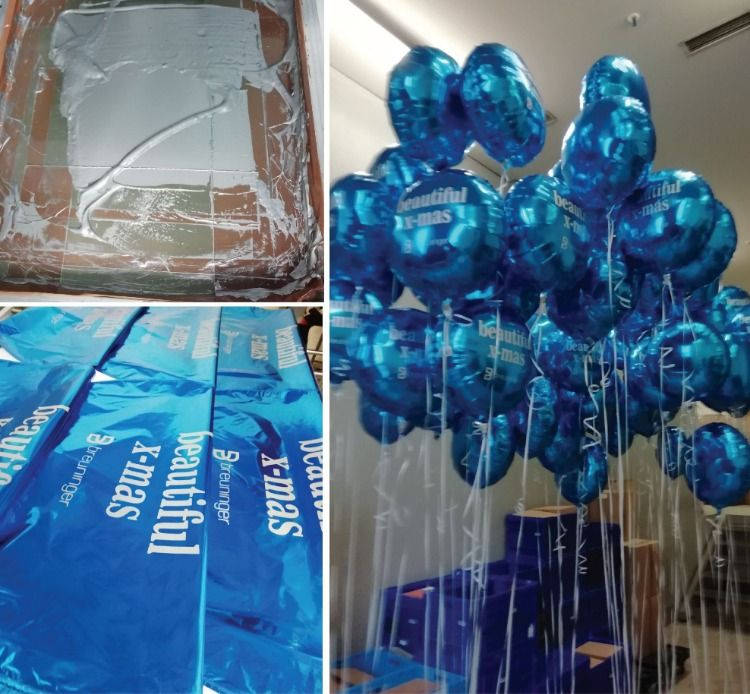 Bedruckte Folienballons Ballons Bedrucken Bedrucken Werbemittel