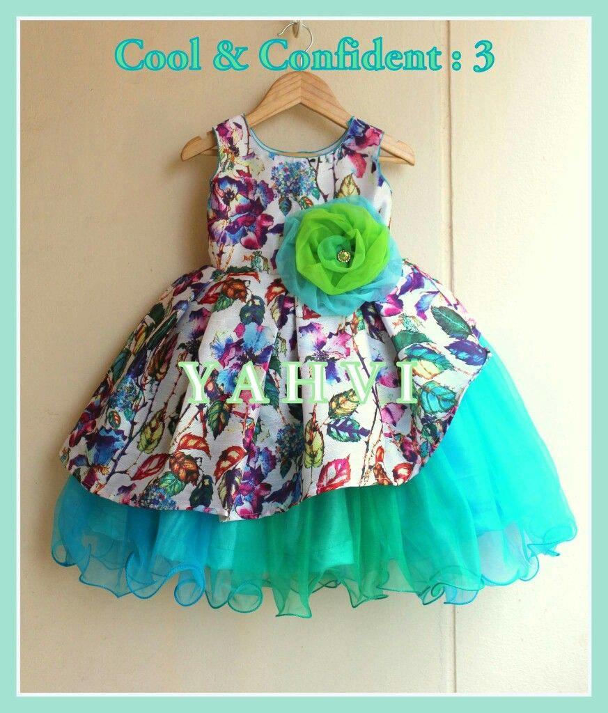 bced867ca Baby Girl Party Dresses, Little Girl Dresses, Girls Dresses, Kids Party Wear ,