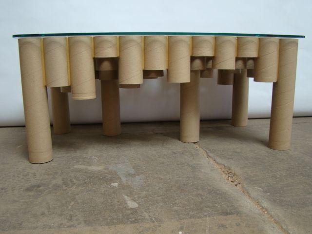 cardboard tube furniture. Cardboard Tube Table Furniture R