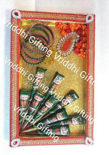 Mehandi Gift Packing Indian Wedding Trousseau