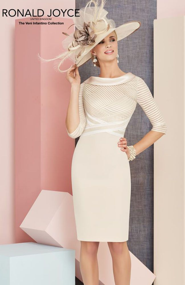 Veni Infantino 991306 Mother\'s Outfit in Almond & Ivory - £546 ...