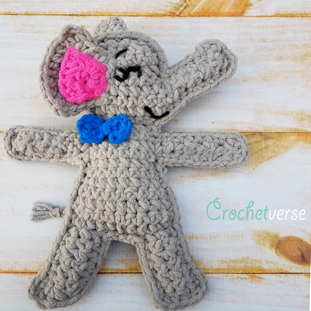 Free & Fast Elephant Ragdoll Pattern - Crochetverse | crochet fun ...