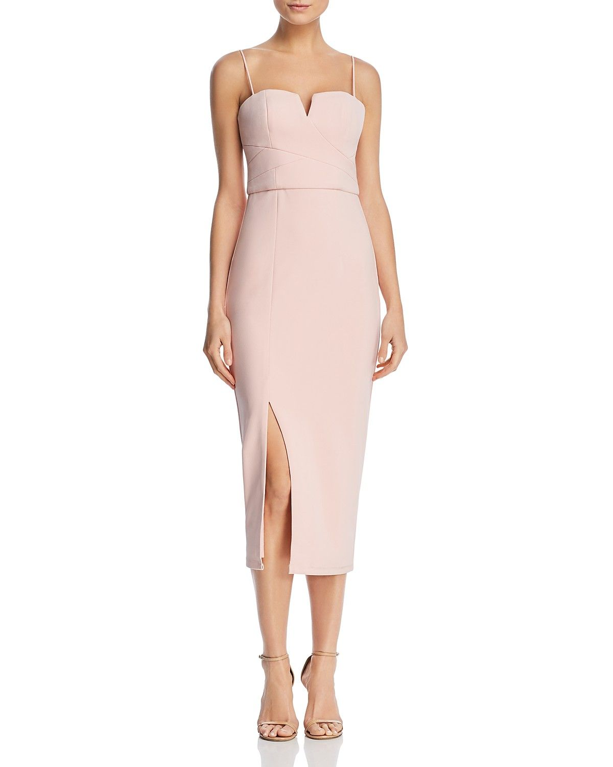Bariano Sweetheart Midi Dress 100 Exclusive Women Dresses Cocktail Party Bloomingdale S Midi Dress Dresses Dress 100 [ 1500 x 1200 Pixel ]