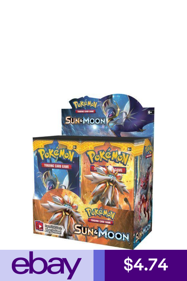 1x Booster Pack  Pokemon Sun and Moon Booster Pack New Sealed