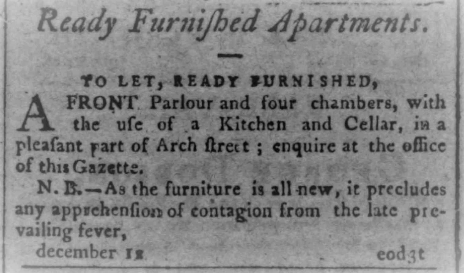 These Vintage Rental Ads Prove Apartment Hunting Has Always Been Terrible