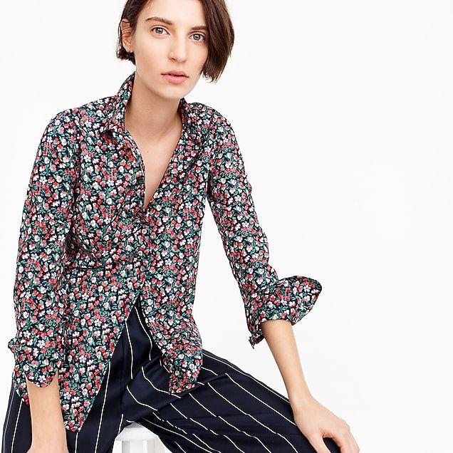 dfd58079bf Liberty Sarah floral slim perfect shirt  98