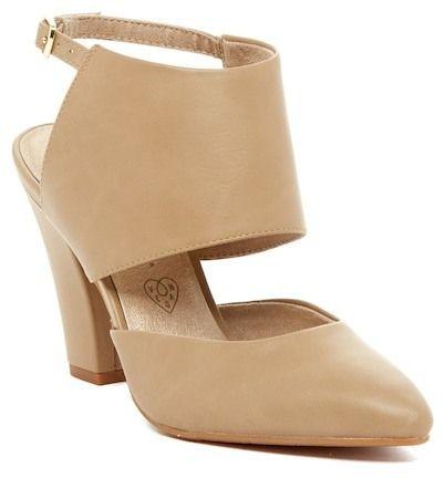 BC Footwear On The Sly Vegan Slingback Pump nkdFFKQ