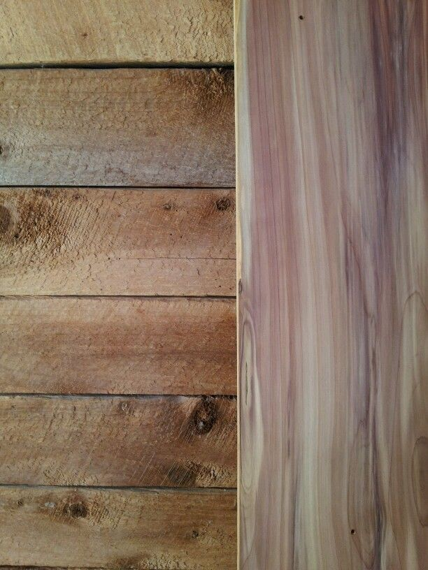 Planing Cedar Amazing Results My Home Has Primarily Rough Sawn