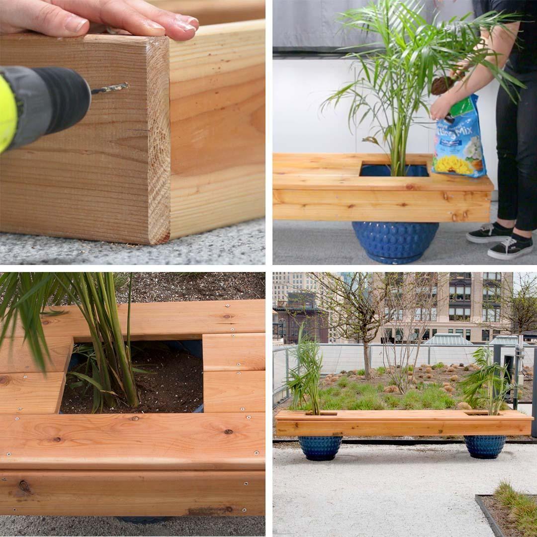 Photo of DIY Living Bench – #Bench #blumenkasten #DIY #Living