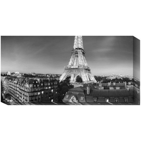 i pinned this eiffel tower canvas print from the evening collection event at joss and main. Black Bedroom Furniture Sets. Home Design Ideas