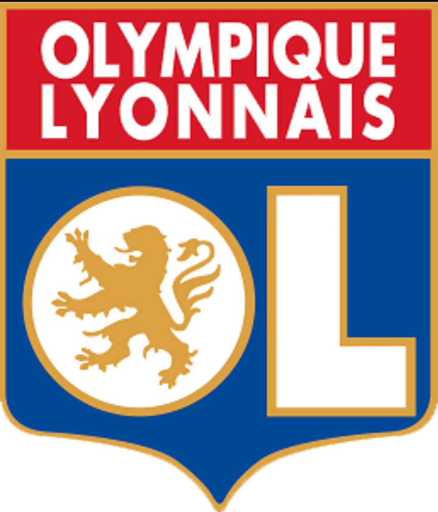 Olympique Lyonnais Lyon / França Football logo design