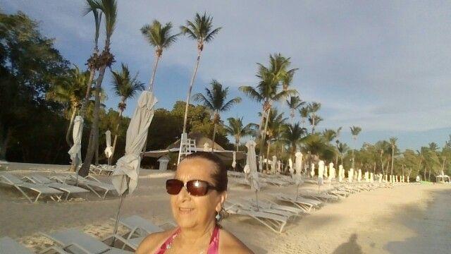Playa en Casa de Campo, en La Romana. Rep. Dominicana.