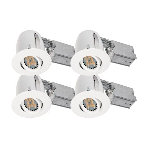 Bazz lighting 310l7bx4 set of 4 dimmable led recessed lighting kit bazz lighting 310l7bx4 set of 4 dimmable led recessed lighting kit aloadofball Images