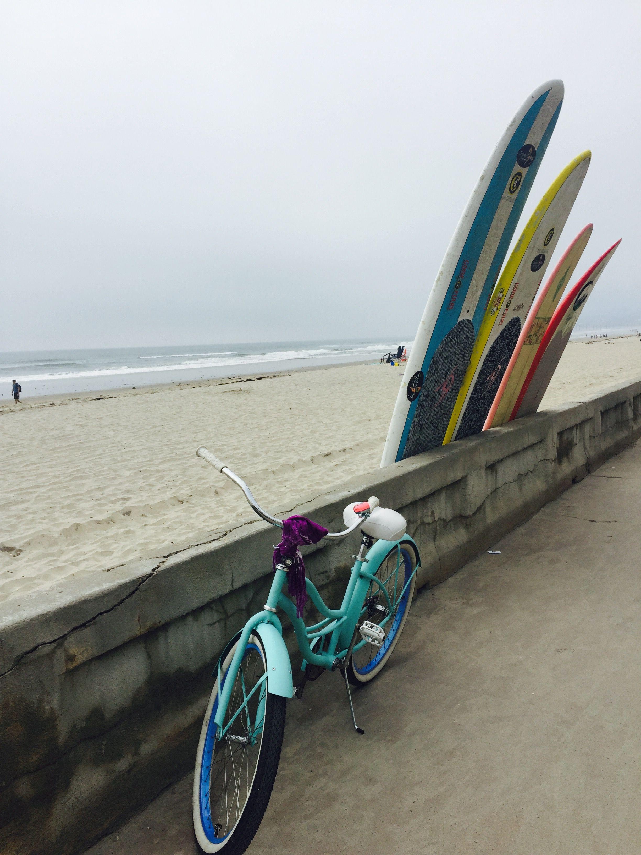 Mission Beach Boardwalk in San Diego